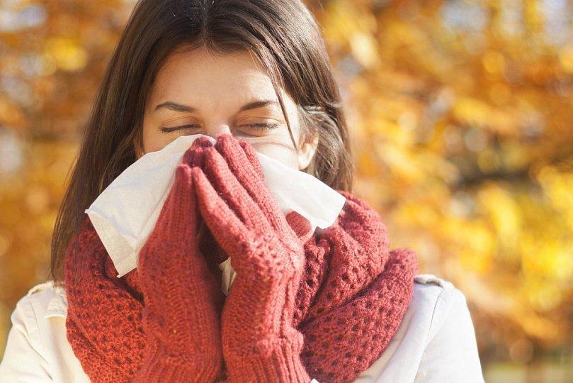 осень простуда